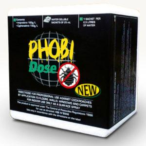 Phobi Dose carton of 10 x 25ml sachets